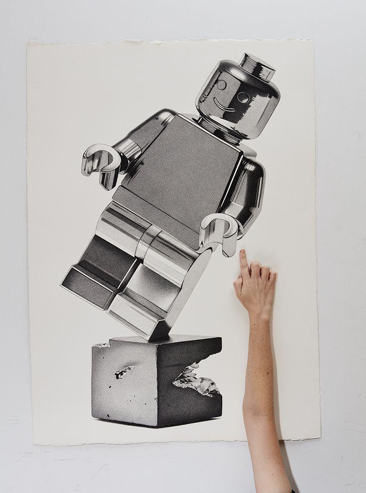 Amazing photo-realistic illustrations by CJ Hendry