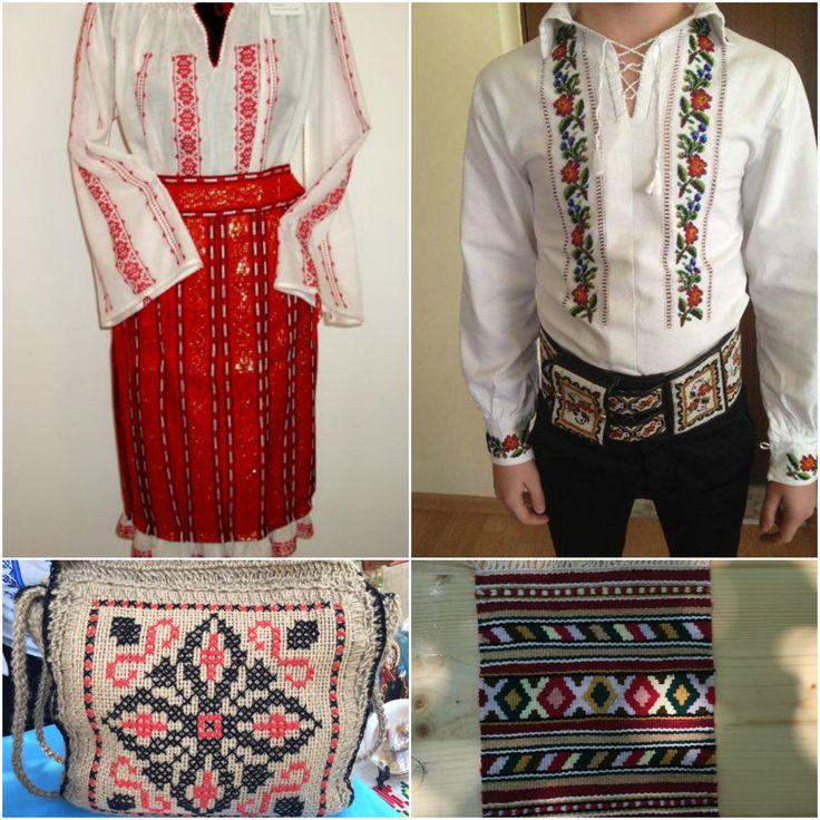 Costum popular si accesorii cu motive traditionale pe http://www.manufacturat.ro/meserie/tesaturi-artizanale/