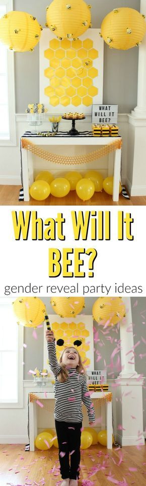 What Will It BEE Gender Reveal Party Ideas