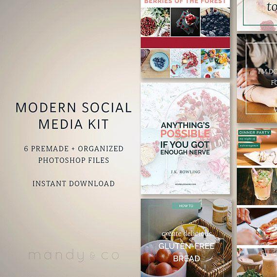 Check out this item in my Etsy shop https://www.etsy.com/uk/listing/461865372/blog-post-kit-modern-social-media
