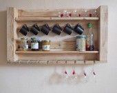 Meuble de rangement en bois de palette : Meubles et rangements par la-fee-rabote