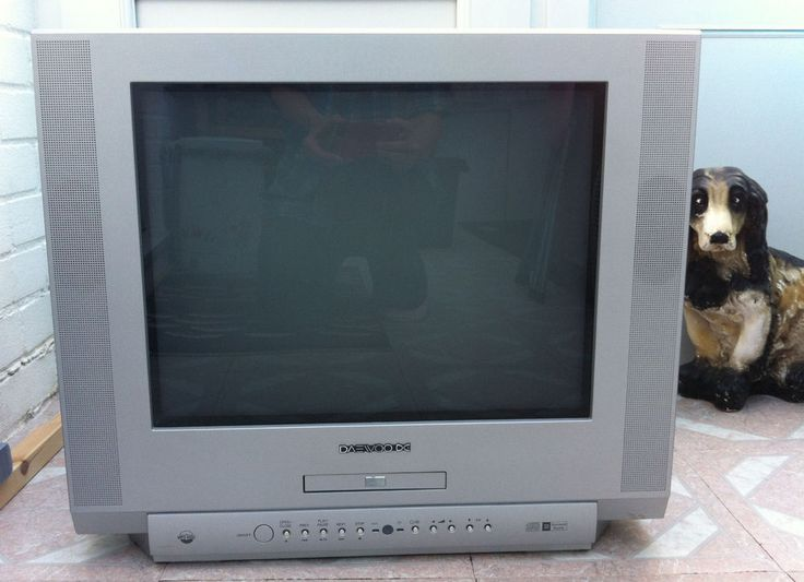 DAEWOO DDT-21H9S TV + BUILT IN DVD and REMOTE CONTROL. All In good working order