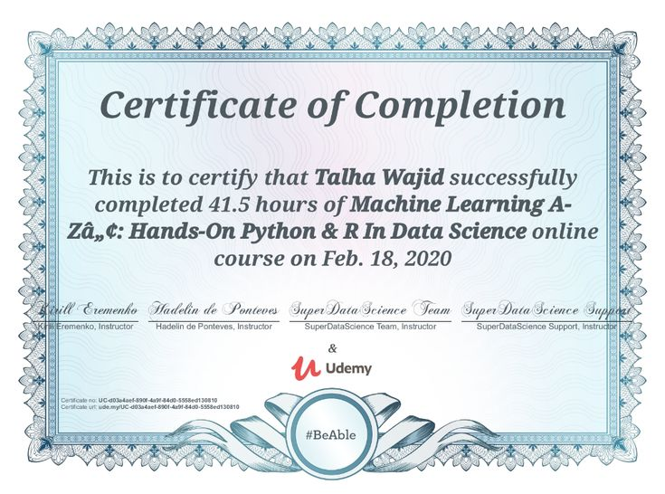 udemy certificate completion course certification education business learning