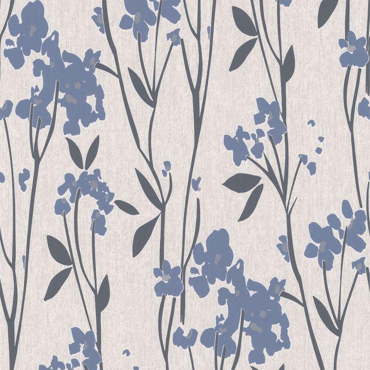 Super Fresco Paste The Wall Empathy Blue Cream Wallpaper