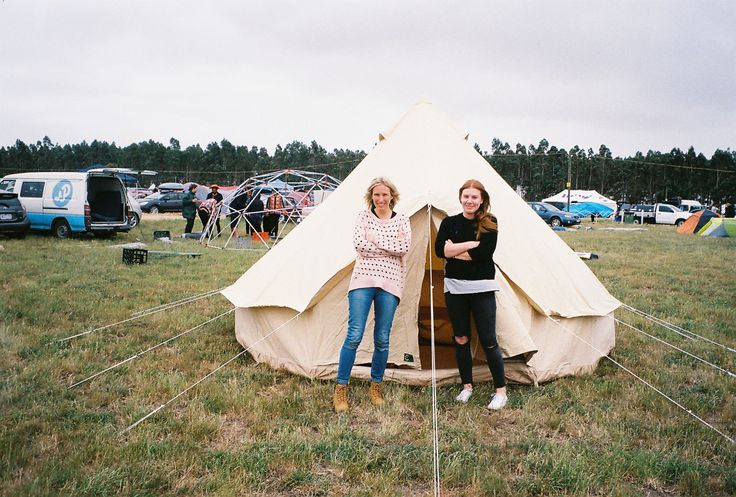 Homecamp Bell tent review at meredith festival