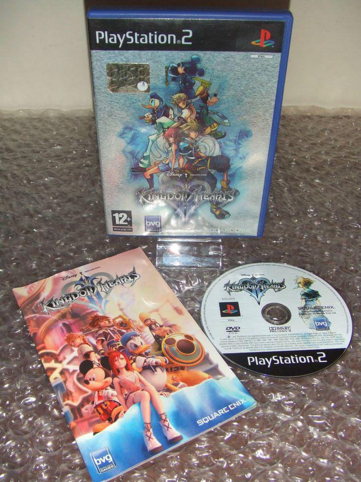 KINGDOM HEARTS II 2 - PS2 ps3 playstation - PAL ITA - Prima Stampa