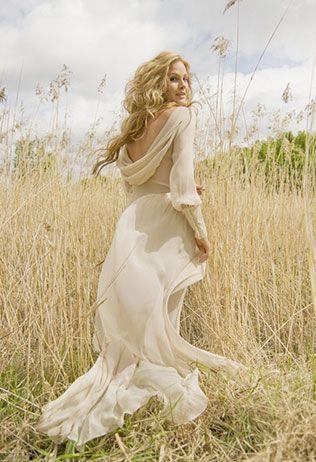 long soft dress