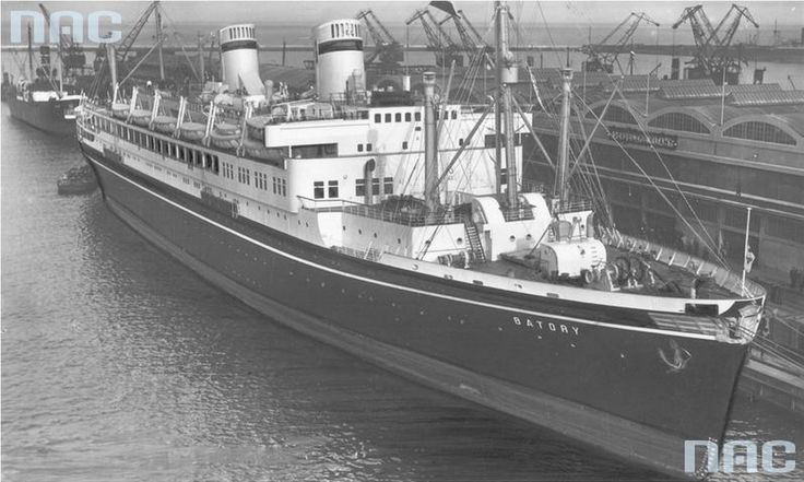 The MS Batory at the passenger pier at the Gdynia port, 1939, photo: Illustrated Daily Courier  It sailed for 36 years. Ships don't usually sail that long, but the MS Batory was unique - writes Bożena Aksamit in her historic reportage about the most famous Polish trans-Atlantic liner, pride of the Second Republic, living art, and the only representation of a free Poland during the war.