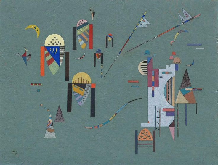Wassily Kandinsky - Vertical Accents, 1942