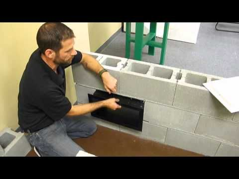 Crawl Space Trim Sleeve Air Vents With Covers