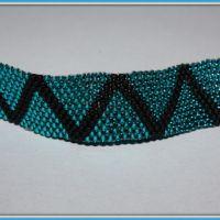 Jak zrobić bransoletkę z koralików metodą Peyote (krok po kroku, tutorial) ? | Blog o koralikach, biżuterii, szydełkowaniu, tworzeniu bransoletek, kolczyki.