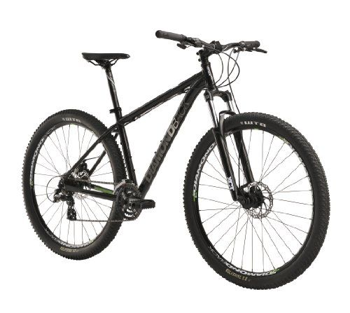 Diamondback Response Mountain Bike with 29-Inch Wheels, Black, 16-Inch/Small Detail Features and Description :  Features      Redesigned Response 6061-T6 Aluminum frame; new look, same reliability     29″ diameter wheels for easy navigation over large obstacles     100mm suspension fork for smooth riding over rough terrain     Mechanical Disc Brakes for enhanced stopping power     7 Speed drivetrain to see you through the ride