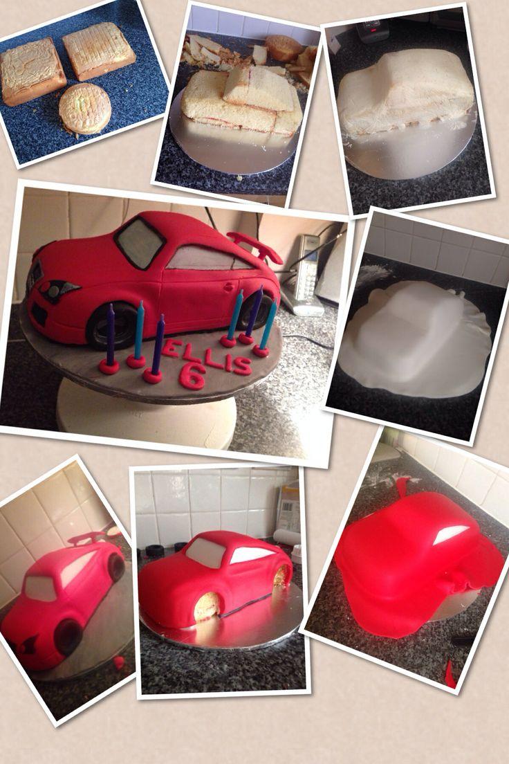From sponge cake to Audi TT 100% edible birthday cake