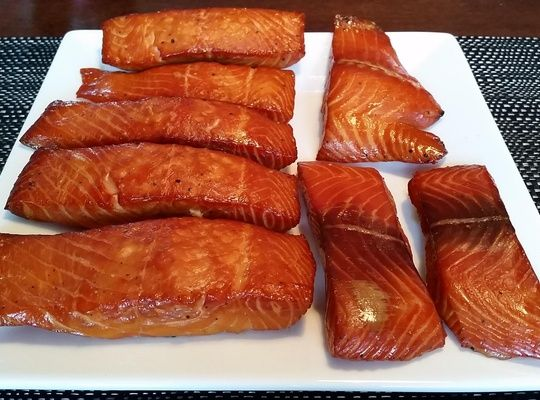 Candied Salmon is unbelievable, you can't have just one piece.  It's delicious to snack on its own or as an appetizer. Can be added to a range of cooked and uncooked dishes, such as pasta, salad, etc.