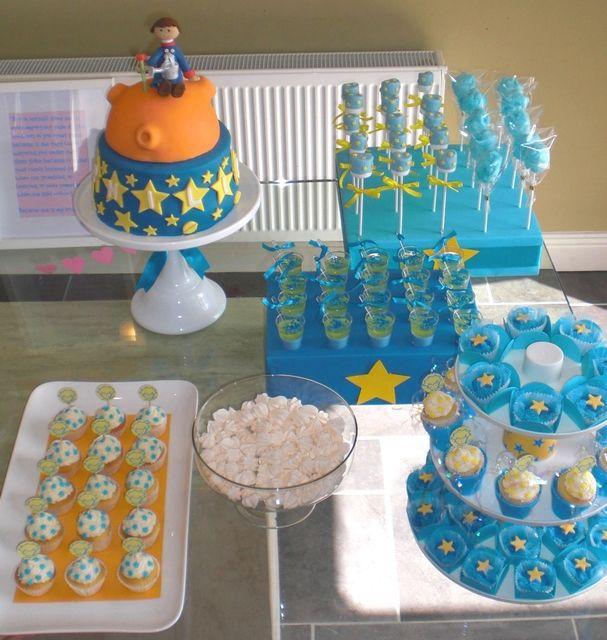 Little Prince dessert table. so cute! J'adore le petit prince!
