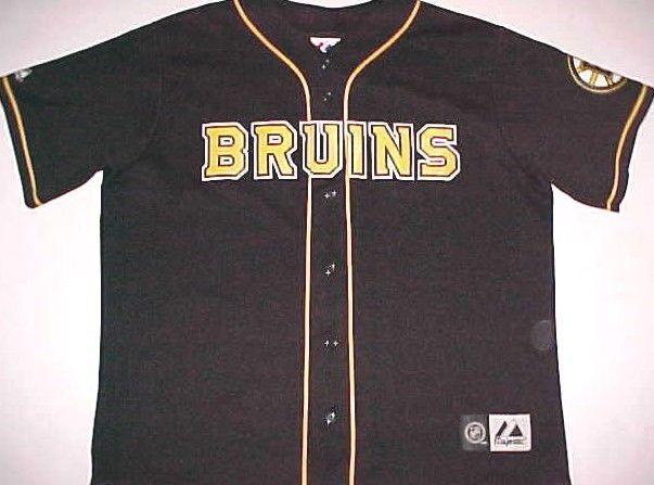 best loved 0ba2c b0315 Boston Bruins Hockey Logo NHL Unisex Black Yellow Scripted ...