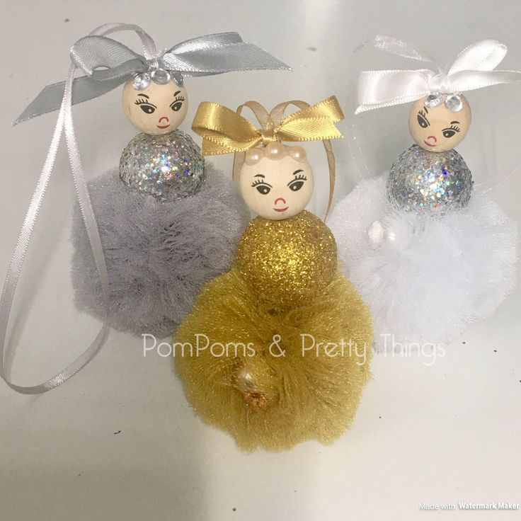 A personal favourite from my Etsy shop https://www.etsy.com/uk/listing/556680289/pompom-decoration-christmas-decoration