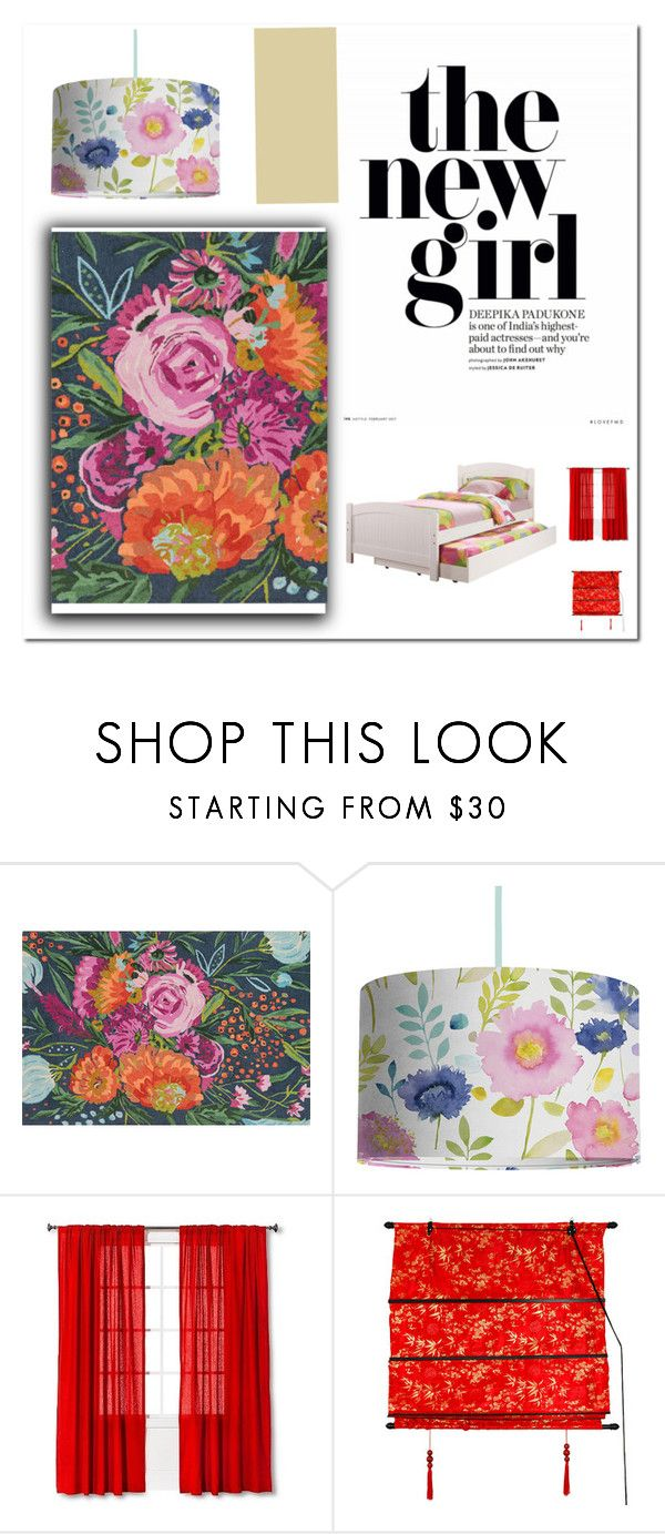 """""""teneage room"""" by kata-koppany on Polyvore featuring interior, interiors, interior design, home, home decor, interior decorating, Loloi Rugs, Bluebellgray, INC International Concepts and Threshold"""