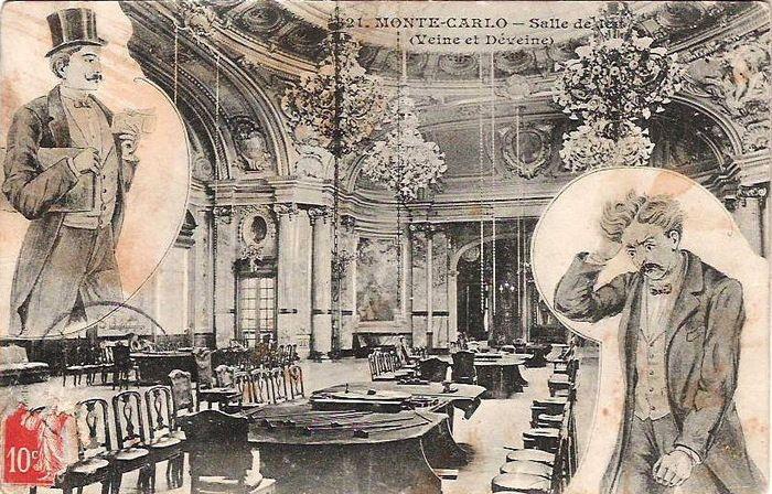 Ночная жизнь Монте-Карло на старинных открытках... - История и этнология. Факты. События. Вымысел.