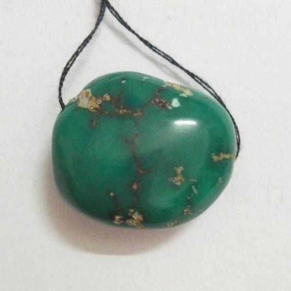 Turquoise Gemstone Bead/Natural Turquoise Pendant