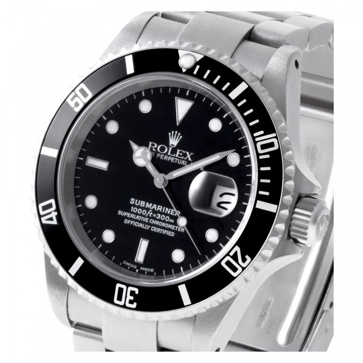 W520550 Rolex Submariner 16610 40.0mm Stainless Steel Automatic