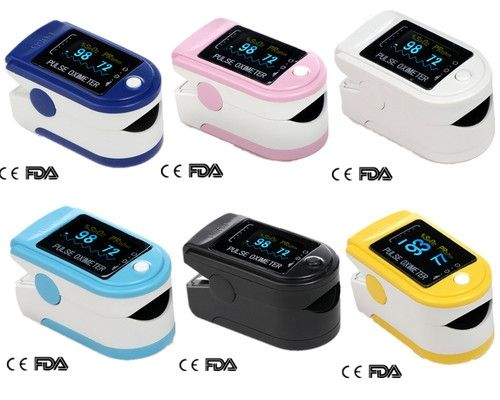 wholesalse item CMS50D Portable Finger Tip Pulse Oximeter Oximetro OLED Blood Oxygen Saturation Spo2 Pulse Rate