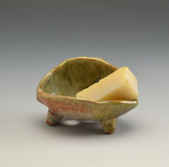 Soap Dish Bathroom Accessories Handmade Ceramic  #1