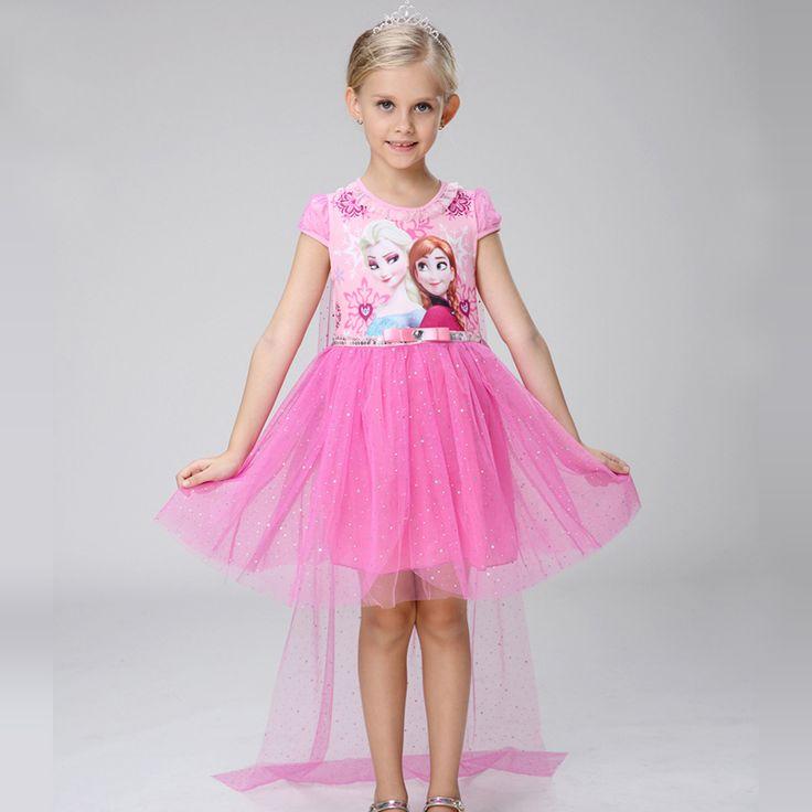 $7.09 (Buy here: https://alitems.com/g/1e8d114494ebda23ff8b16525dc3e8/?i=5&ulp=https%3A%2F%2Fwww.aliexpress.com%2Fitem%2FNewest-Dress-For-Girl-Free-shiping-Girls-Clothes-Elsa-Anna-Princess-Dresses-Kids-Costume-Elegant-Children%2F32770015205.html ) Newest Dress For Girl Free shiping Girls Clothes Elsa & Anna Princess Dresses Kids Costume Elegant Children Clothing Party dress for just $7.09