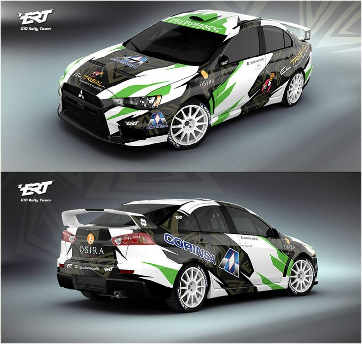 Design for Bolivian rally driver Esteban Eid and his Mitsubishi Lancer Evo X