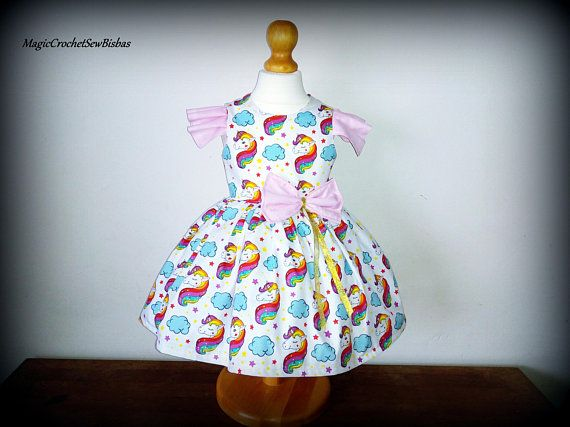 Girl dressgirl unicorn dressrainbow unicorn dressgirl