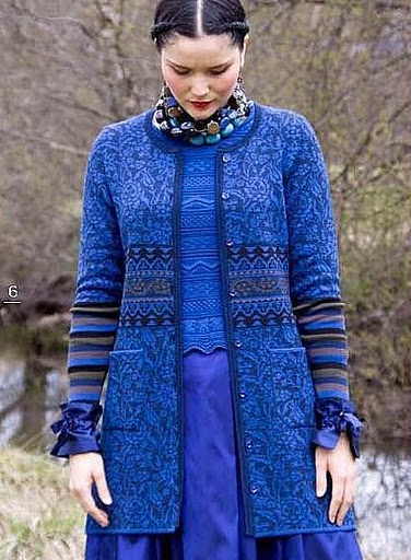 <3 this one.. I own this in the red color way. You have to love Solveig Hisdal and Oleana knits. best of all, the factory store. Love.