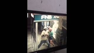 East London, South-Africa - A Cambridge Resident was attacked by two men at knife-point at the local ATM this weekend. This is the video footage of his ordeal. South Africa Today - South Africa News
