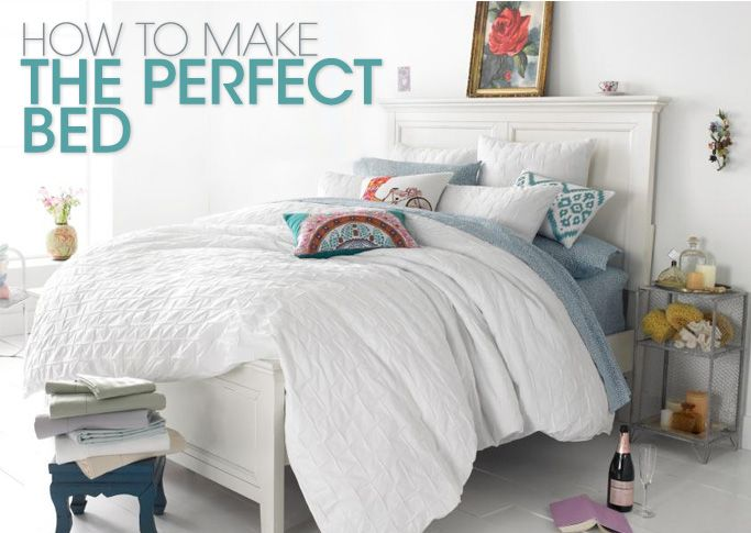 Here Are 6 Easy Steps To Follow For The Making The Most Comfortable,  Stylish Bed