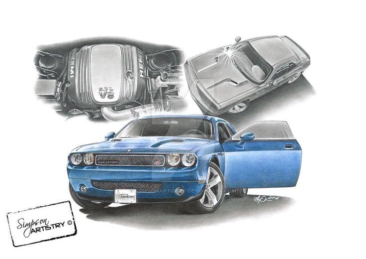 2010 Dodge Challenger by SIMPSONARTISTRY on DeviantArt