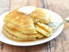 Plump and pillowy, IHOP Pancakes copycat is just as tasty as what you'd find in the restaurant yet costs a fraction of the price. You can easily double the recipe to feed a large crowd or add chopped fresh fruits to the batter for another layer of yum.