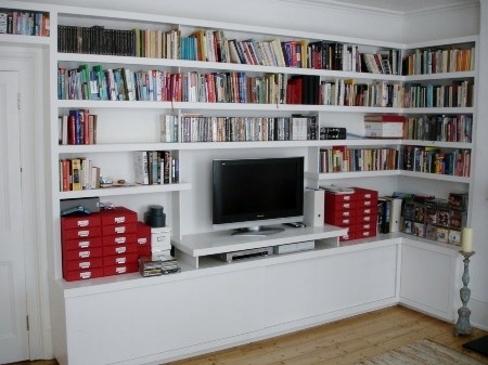 62 best Bookcase wall images on Pinterest | Book shelves, Bookcase ...