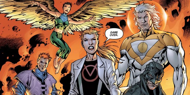 Bryan Hitch Unveils New Authority Artwork Fans of Bryan Hitch rejoice!The British artist and his blockbuster widescreen art will soon be reunited with DC Comicsiconic interventionist superhero team The Authority. Hitchhas drawn a new cover for Absolute Authority Vol. 1 a collection of his run with Warren Ellis on the acclaimed Wildstorm series. Hitch previewed his pencils for the project in a tweet on his official Twitter feed. probably shouldn't be sharing this but here's a sneak at the…