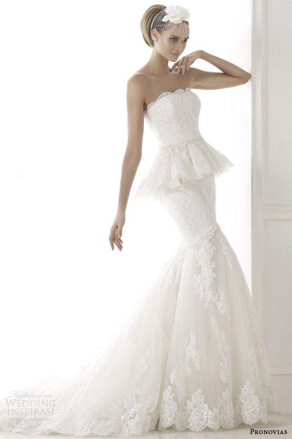 Pronovias 2015 Pre Collection Wedding Dresses Costura Bridal