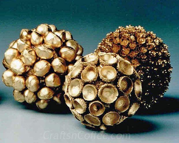 how to make beautiful sented pinecones