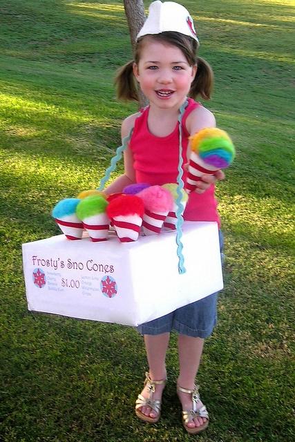 Snow Cones Halloween costume!