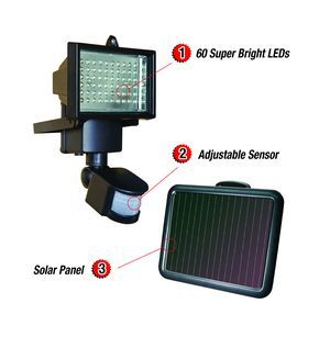 Amazon.com: Sunforce 82156 60 LED Solar Motion Light: Automotive $34.99