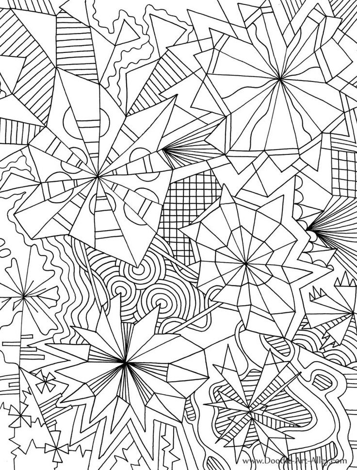 coloring pages for adults geometric - photo#3