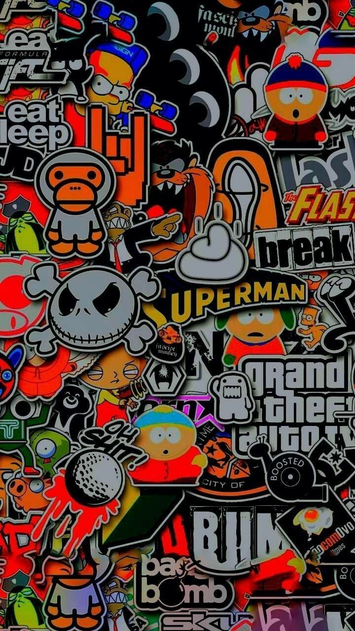 Sticker Sfondi Hd In 2020 Graffiti Wallpaper Iphone Hypebeast