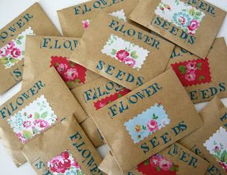 Seeds party bag fillers
