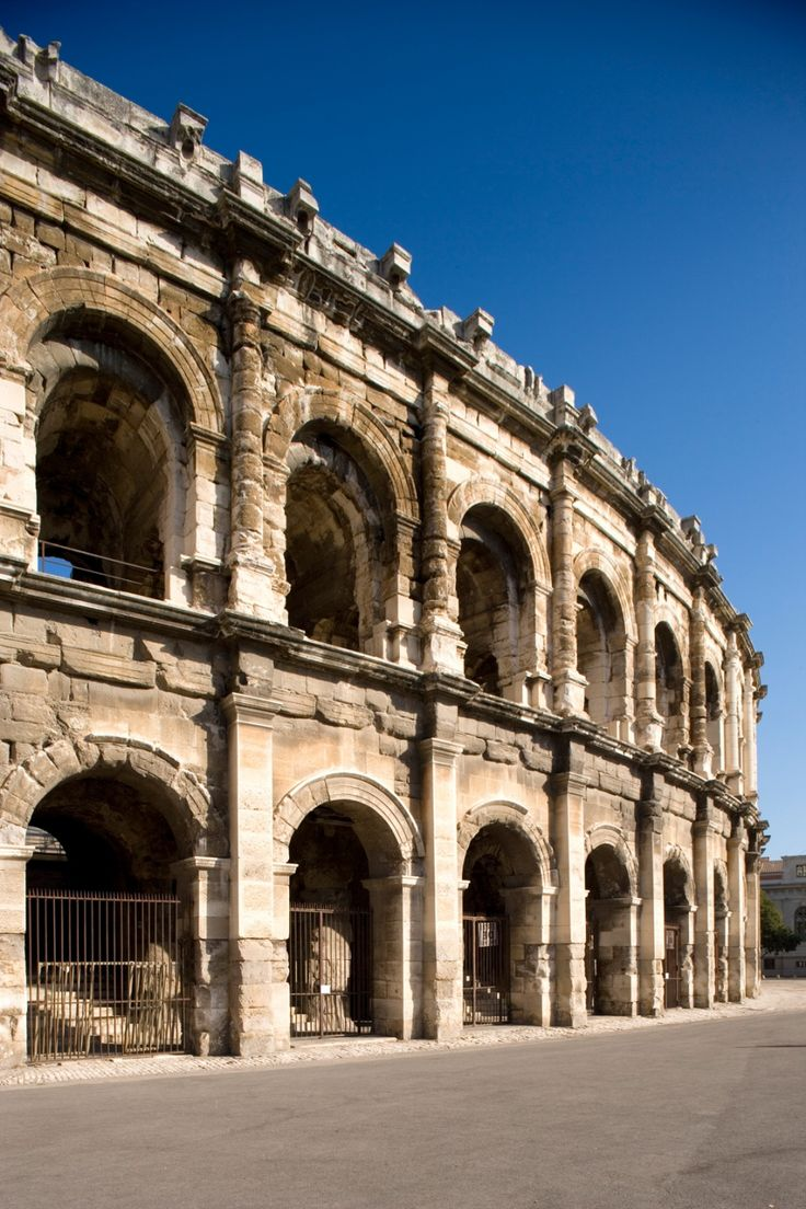 Les Arènes Arènes de Nîmes, Maison Carrée, Tour Magne