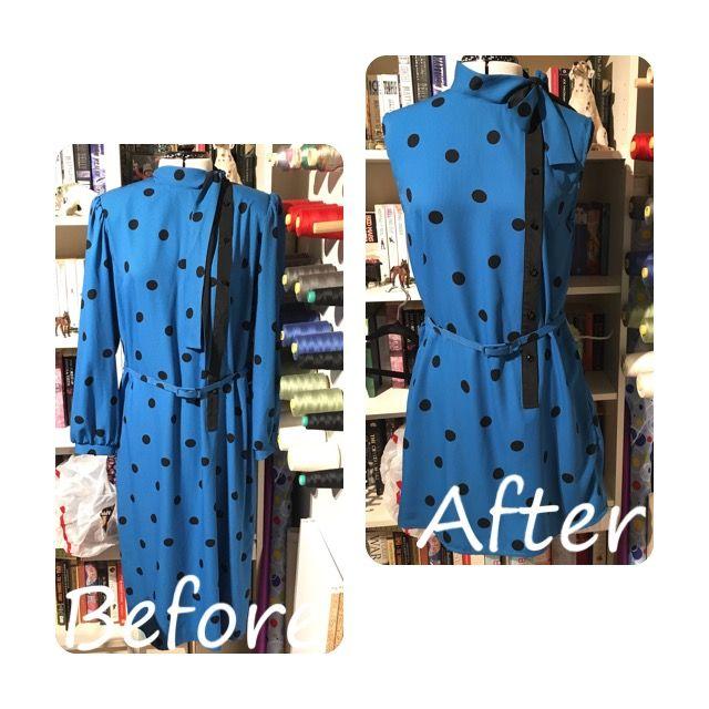 Refashioned dress  @trixiescraftco