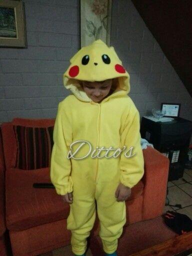 Pijama enterito pikachu