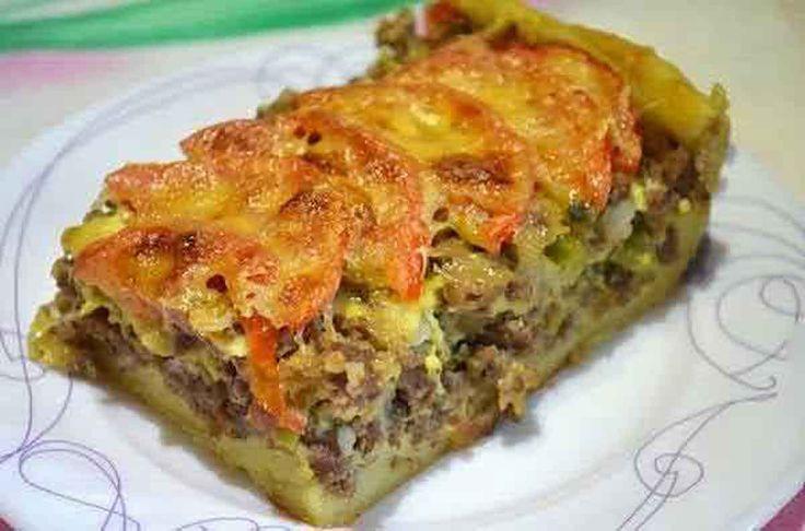 Plăcinta cu carne este una dintre cele mai delicioase și surprinzătoare rețete…