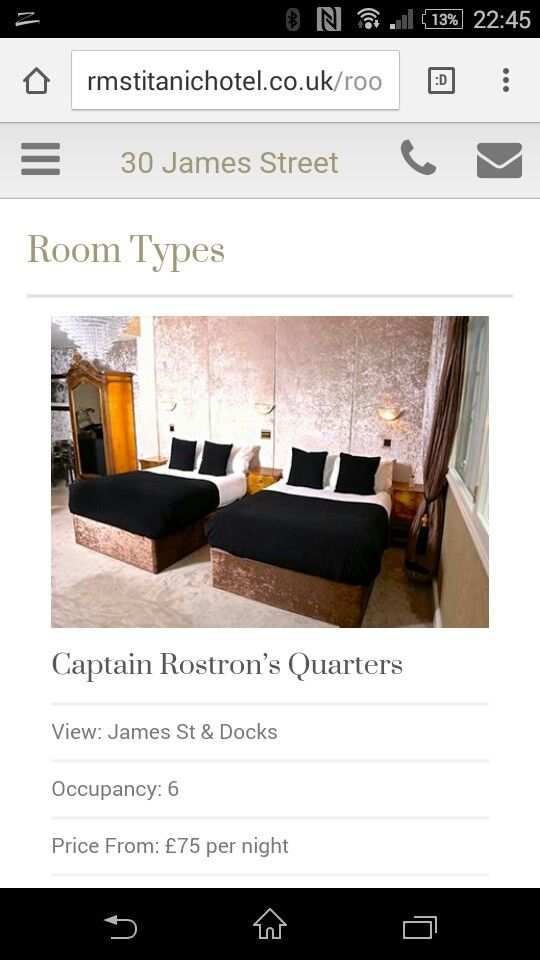 Can not wait to stay here #liverpool titanic hotel james street treat for birthday
