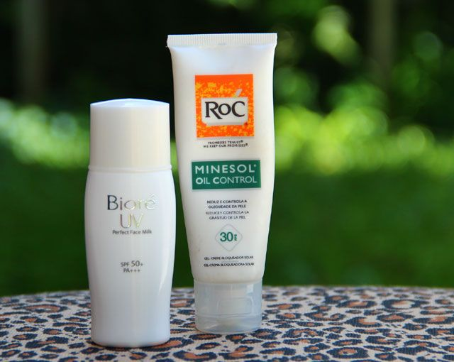 Protetor solar para pele oleosa Bioré Perfect Milk » Coisas de Diva